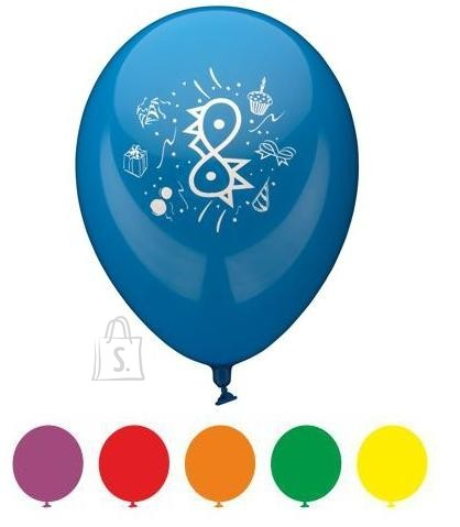 """Pap Star õhupallid """"Palju Õnne"""" 6 tk"""