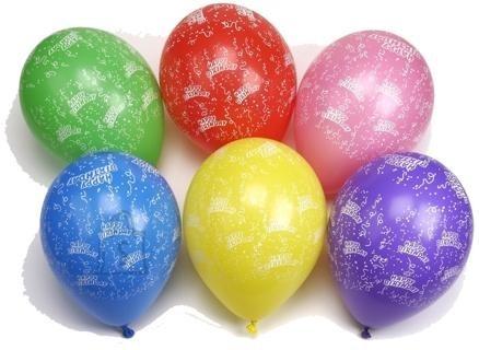"Pap Star õhupallid ""Happy Birthday"" 10 tk"