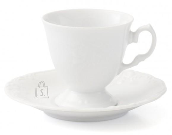 Porcelana Krzysztof tass alustaldrikuga Fryderyka 200 ml