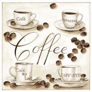 Salvrätikud kohvitassidega