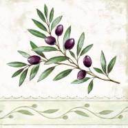 Salvrätikud oliivioksaga