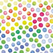 Salvrätikud värviliste täppidega