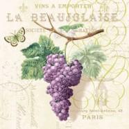 Salvrätikud viinamarjakobaraga