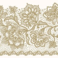 Salvrätikud kuldse lillemustriga