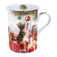 Tass kassi ja jõulukingitustega
