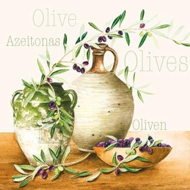 Salvrätikud oliividega