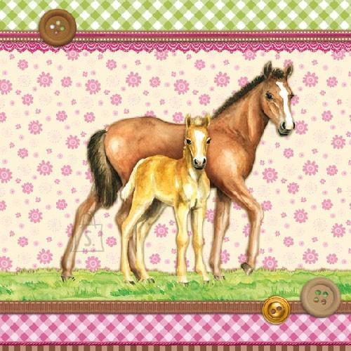 Salvrätikud hobustega