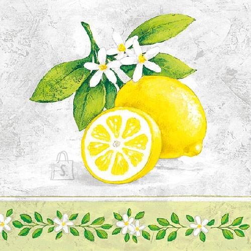 Salvrätikud sidruniga