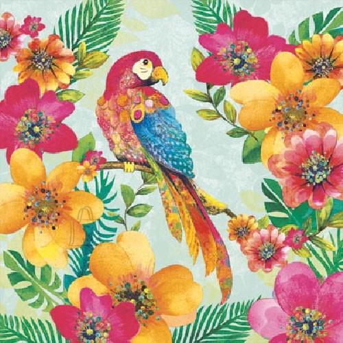 Salvrätikud papagoiga