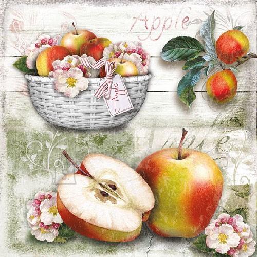 Salvrätikud õuntega
