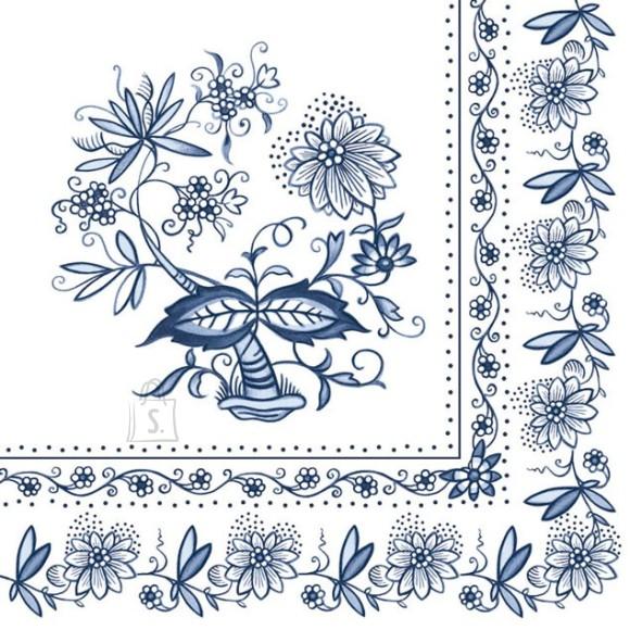 Salvrätikud siniste lilledega
