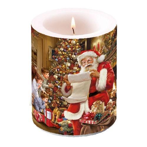 Küünal jõuluvanaga