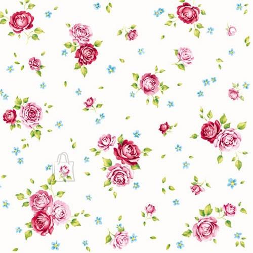 Salvrätikud väikeste roosidega