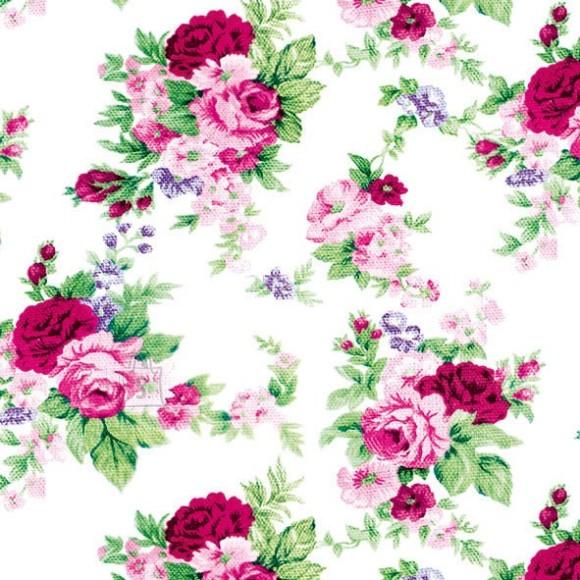 Salvrätikud väikeste roosade õitega