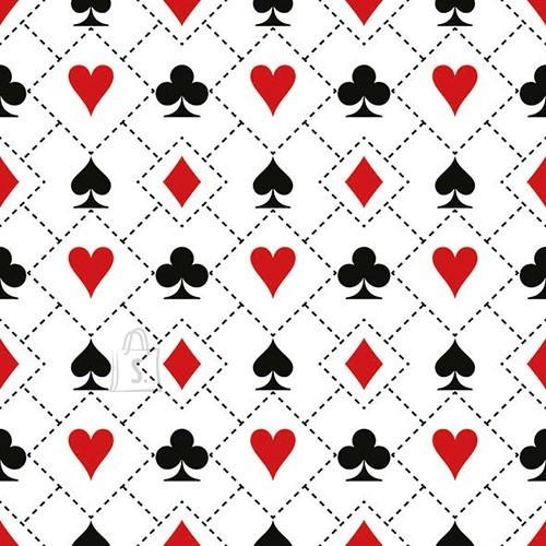 Salvrätikud mängukaartidega