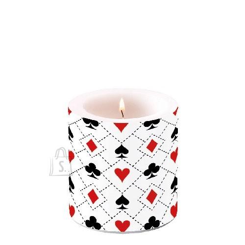 Küünal mängukaartidega
