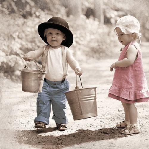 Salvrätikud lastega