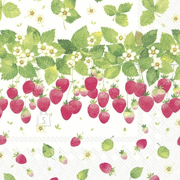 Salvrätikud maasikatega