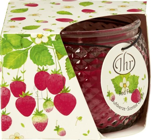 Lõhnaküünal maasikatega