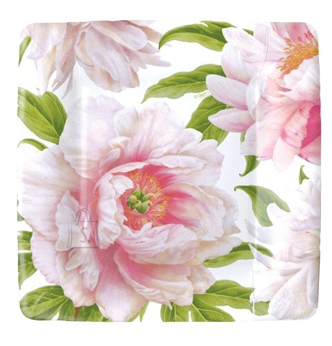 Väike papptaldrik lilledega