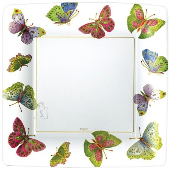 Suur papptaldrik liblikatega 8tk/pakis