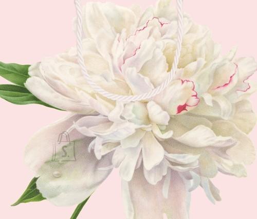 Kinkekott lilledega