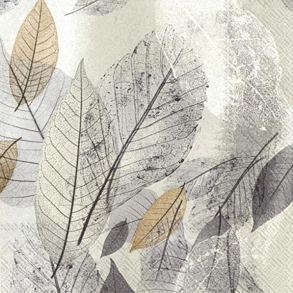 Salvrätikud lehtedega