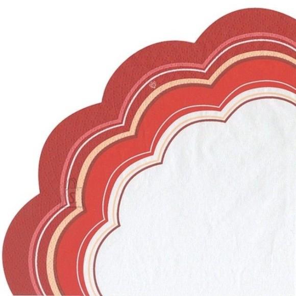 Salvrätikud punase triibuline