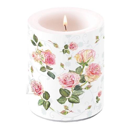 Küünal roosidega