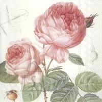 Salvrätikud roosidega