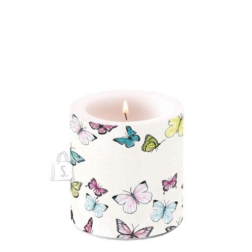 Küünal liblikatega