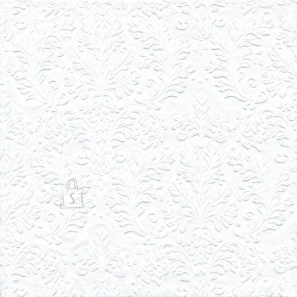 Salvrätikud valge mustriga