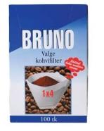Bruno kohvifilter 1x4