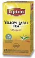 Lipton Yellow Label tee fooliumis 1,8gx25