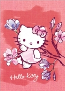 College ruuduline spiraalplokk Hello Kitty Aquarelle A4/80L