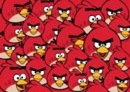 College Joonistusplokk spiraaliga Angry Birds Pattern A4/20L
