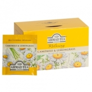 Ahmad Tea Relaxing kummel  ja sidrunhein fooliumis 20x1.5g