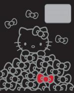 College ruuduline kaustik Hello Kitty Iconic A5 48 lehte