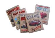 Akademy Kaustik Vintage cars A5/48L 5x5 ruut