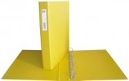 College rõngaskaust A4/3.5cm 4-rõngast kollane