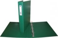 College rõngaskaust A4/3.5cm 4-rõngast roheline
