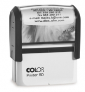 Colop tempel Printer P60 (37x76mm)
