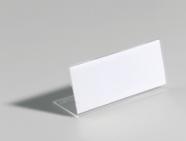 Durable Lauasilt Durable 64x150mm, läbipaistev