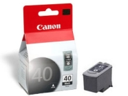 Canon Tint Canon PG-40BK 16ml, Pixma IP1600, IP2200, MP150, must