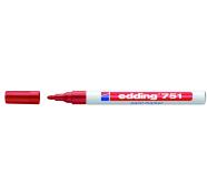 edding värvimarker permanente punane 1-2 mm