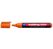 edding permanentne marker oranž 1,5-3 mm