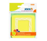 Stick'N märkmepaber Pattern adhesive 70x70 mm 50 tk