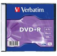 Verbatim DVD+R toorik AZO 4.7Gb 16X slim