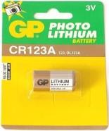 GP patarei CR123A-U1 liitium