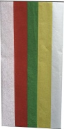Haza siidipaber 50x70cm 5lehte erivärvid